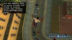 Airbreak - остановка времени и свободный полет для GTA San Andreas