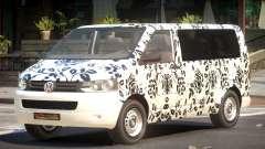 Volkswagen Transporter T5 MS PJ5 для GTA 4