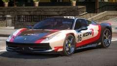 Ferrari 458 Italia GT PJ1 для GTA 4