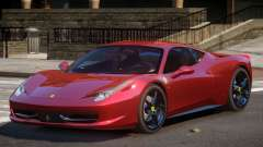Ferrari 458 Italia GT для GTA 4