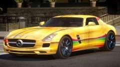 Mercedes Benz SLS GST PJ4 для GTA 4