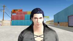 Claudio Serafino Black Clothes V2 для GTA San Andreas