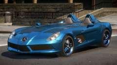 Mercedes Benz SLR Z199 для GTA 4