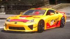 Lexus LFA Nurburgring Edition PJ4 для GTA 4