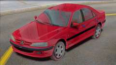 Peugeot Pars TU5 Фабрика для GTA San Andreas