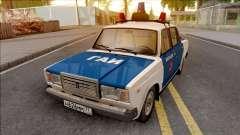 ВАЗ 2107 1994 Милиция ГАИ для GTA San Andreas