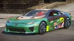 Lexus LFA Nurburgring Edition PJ3 для GTA 4