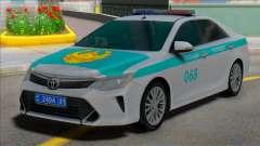 Toyota Camry 2015 Полиция Казахстана для GTA San Andreas
