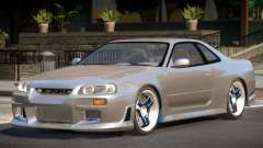 1998 Nissan Skyline R34 для GTA 4