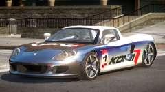 2005 Porsche Carrera GT PJ3 для GTA 4
