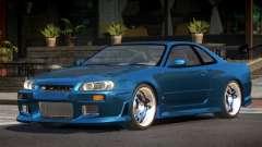 Nissan Skyline R34 PSI для GTA 4