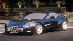 Aston Martin One-77 RP для GTA 4