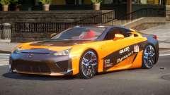 Lexus LFA Nurburgring Edition PJ2 для GTA 4