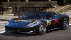 Ferrari 458 Italia GT PJ4 для GTA 4