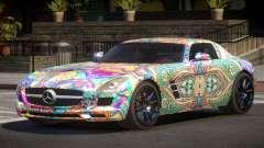Mercedes Benz SLS GST PJ5 для GTA 4