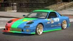Mazda RX7 GST PJ1 для GTA 4