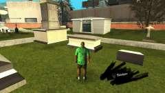 Исправление могил на кладбище в Лос Сантосе для GTA San Andreas