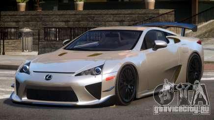 Lexus LFA RT для GTA 4