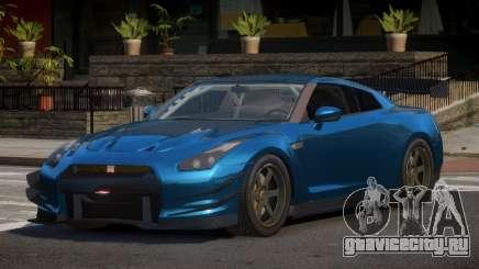 Nissan GTR V1.2 для GTA 4