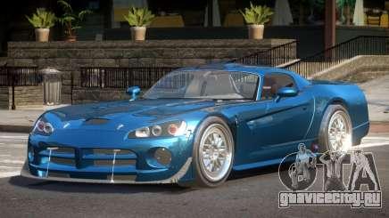 Dodge Viper BS для GTA 4