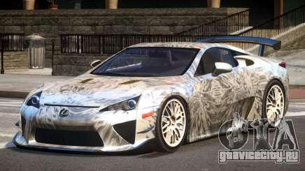 Lexus LFA RT PJ4 для GTA 4