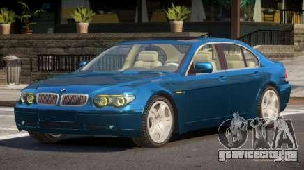 BMW 7S 760i V12 для GTA 4