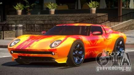Lamborghini Miura SC PJ3 для GTA 4