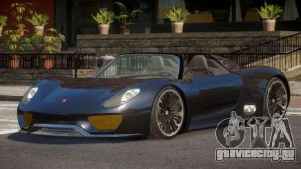 Porsche 918 SR для GTA 4