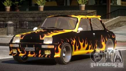 Renault 5 RS PJ3 для GTA 4