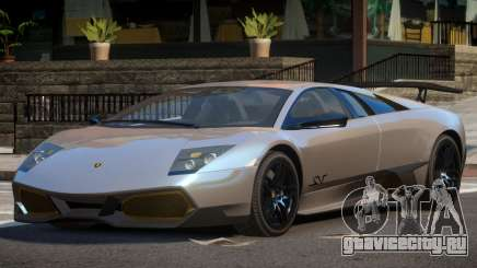 Lamborghini Murcielago SV для GTA 4