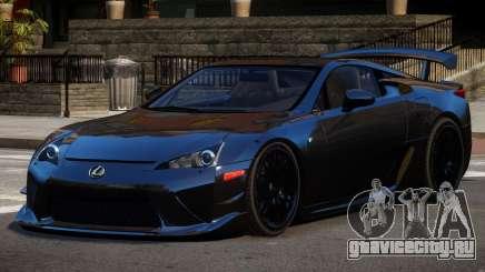 Lexus LFA RT PJ1 для GTA 4