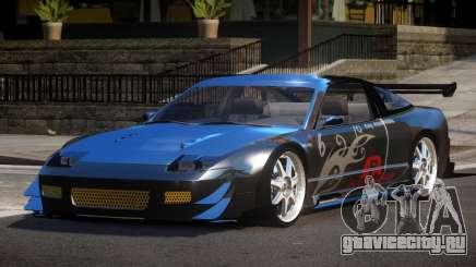 Nissan 240SX R-Tuned PJ2 для GTA 4