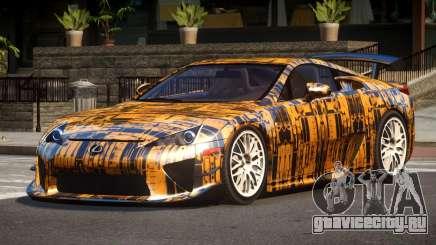 Lexus LFA RT PJ2 для GTA 4