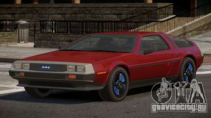 DeLorean DMC-12 RT для GTA 4