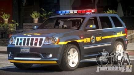 Jeep Grand Cherokee Police V1.1 для GTA 4