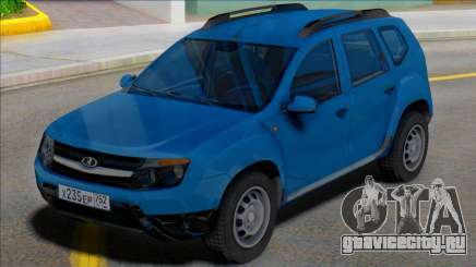 Lada Duster Russian Plates для GTA San Andreas