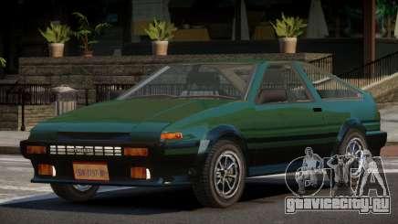 Toyota Corolla AE86 V1.0 для GTA 4