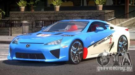 Lexus LFA Nurburgring Edition PJ5 для GTA 4