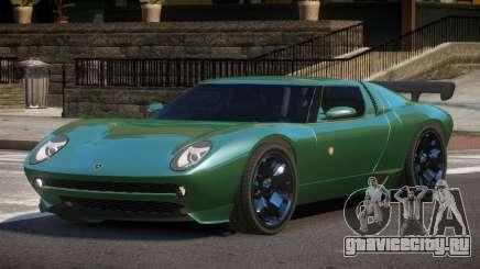 Lamborghini Miura SC для GTA 4