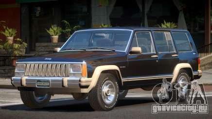 1986 Jeep Cherokee для GTA 4