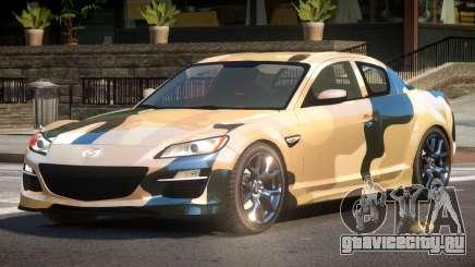 Mazda RX8 L-Tuned PJ3 для GTA 4