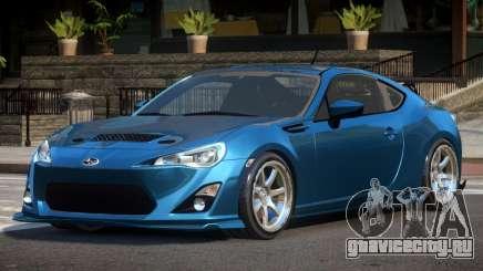 Subaru BRZ E-Style для GTA 4