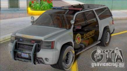 2007 Chevrolet Suburban Sheriff (Granger style) для GTA San Andreas