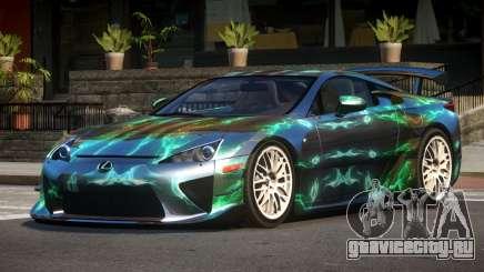 Lexus LFA RT PJ6 для GTA 4