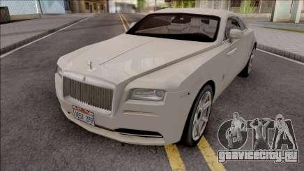 Rolls-Royce Wraith 2014 Grey для GTA San Andreas