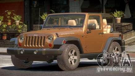 Jeep Wrangler RT для GTA 4