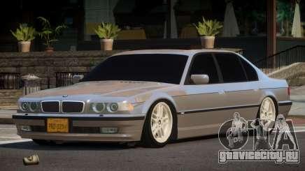 1996 BMW 750iL E38 для GTA 4