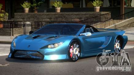 K1 Attack Roadster для GTA 4
