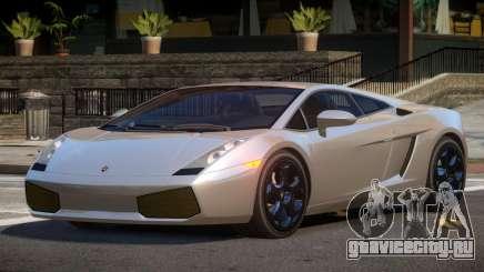 Lamborghini Gallardo GS для GTA 4