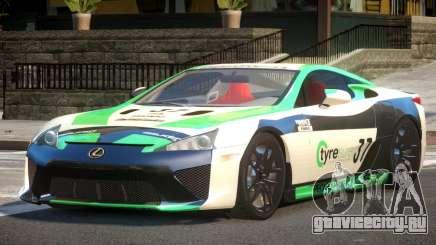 Lexus LFA Nurburgring Edition PJ1 для GTA 4